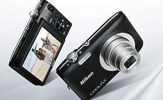 Cámara Nikon Coolpix S2600, pequeña y compacta
