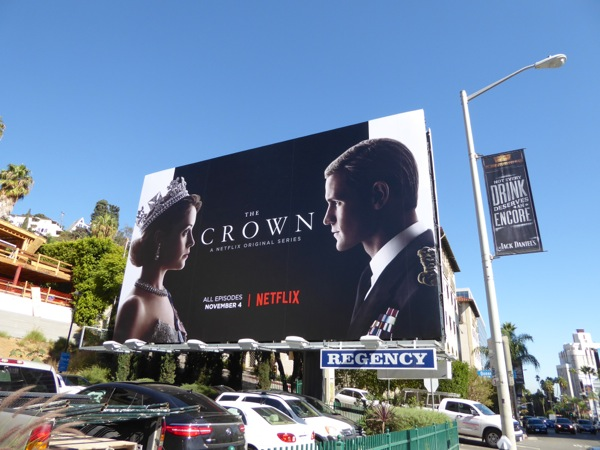 Crown series launch billboard