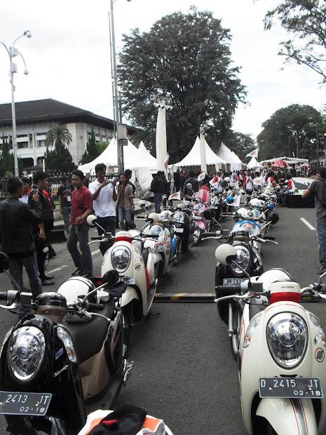 Honda Scoopy 2013 Medan Carmudi Indonesia - Year of Clean Water