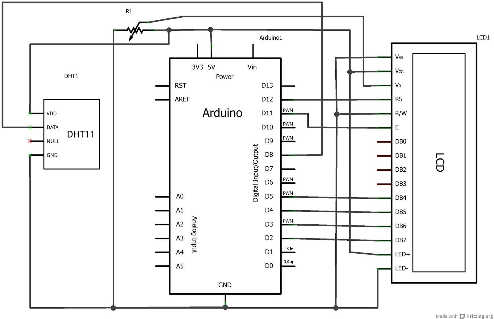 Schemi Elettrici Arduino : Daniele alberti arduino s termometro