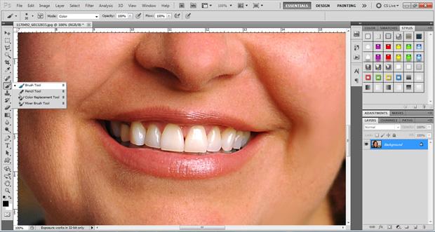 Tutorial maquiagem digital no Photoshop