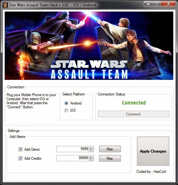star wars assault team hack ios