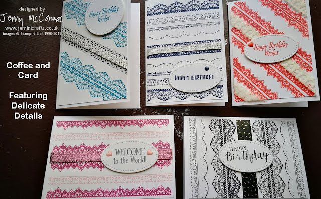 www.jeminicrafts.co.uk for #coffeeandcard card classes stampin Up products