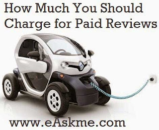 How Much You Should Charge for Paid Reviews : eAskme