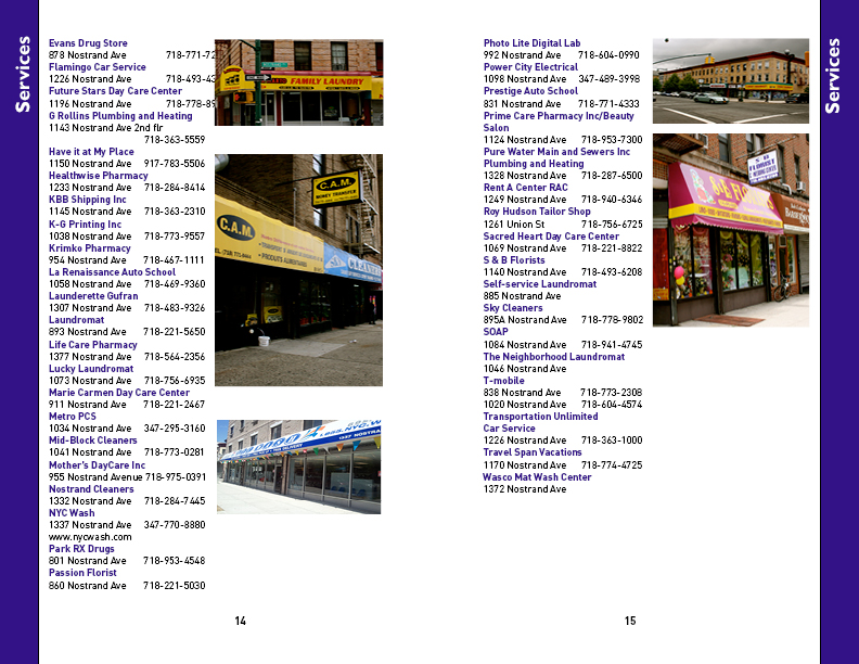Nostrand Avenue Merchants Association: NAMA Business Directory