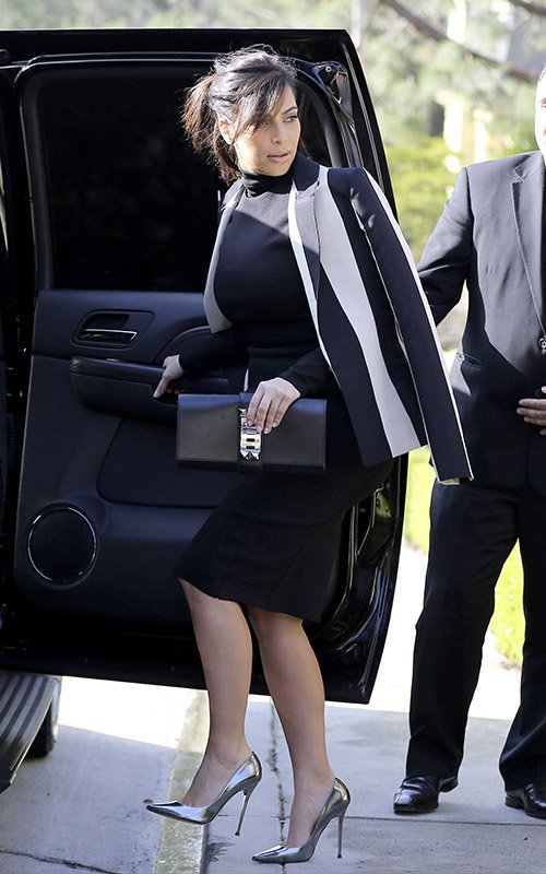 Officialdebs Get Kim Kardashians Turtleneck Dress