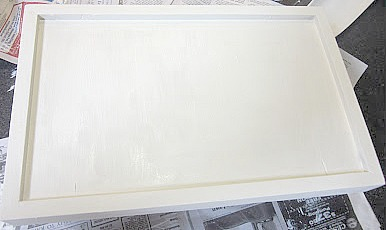 bed tray painting and diy