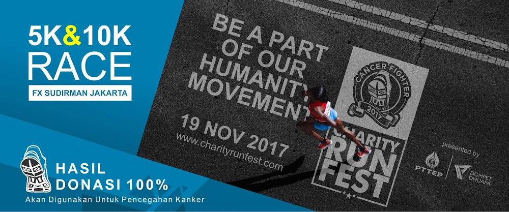 Charity Run Fest • Poster 2017