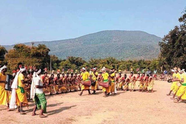 Santali Dahar dance