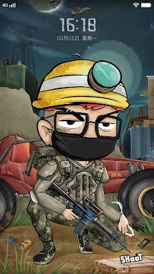 Army Theme itz For Vivo
