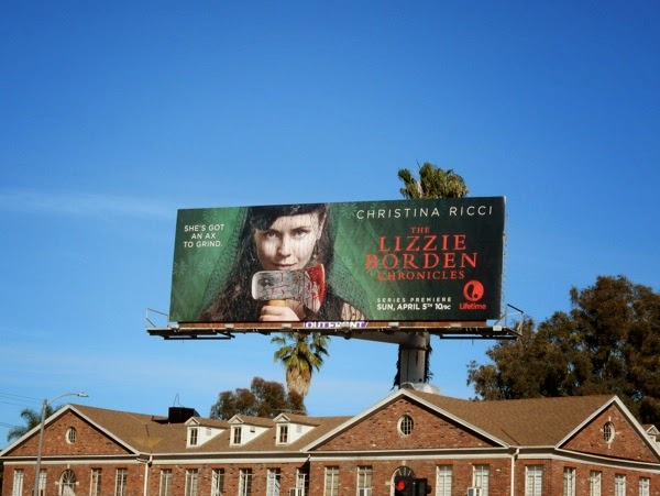 Lizzie Borden Lifetime billboard