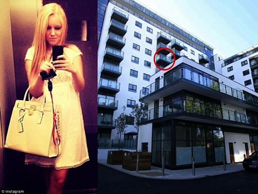 A Wealthy Teenage Students fall to their Death While Having S*x On A Sixth Floor Balcony [Photo]