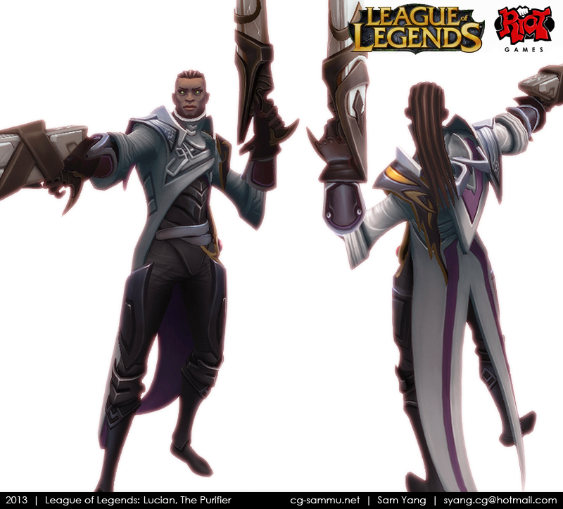90d740f1 The Purifier's Resolve By LeagueofLegends Lucian Lol: Surrender At 20: Red  Post Collection: XP Bug To Be Fixed