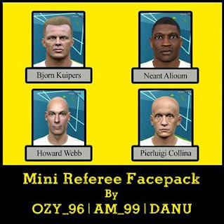 PES 2016 Referee Mini Pack