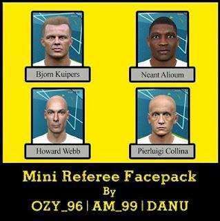 PES 2016 Referee Mini Pack