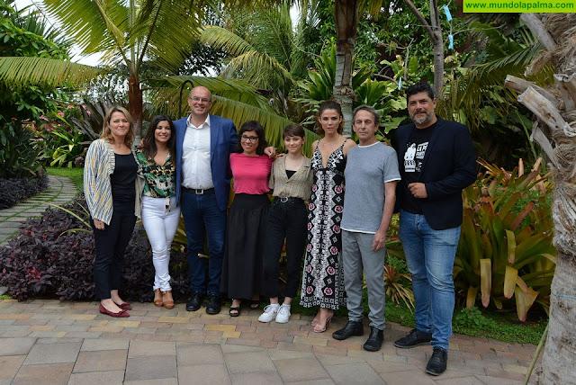 La isla de La Palma, escenario del rodaje de la película 'Las Consecuencias' de Claudia Pinto, con Juan Acosta y Alfredo Castro