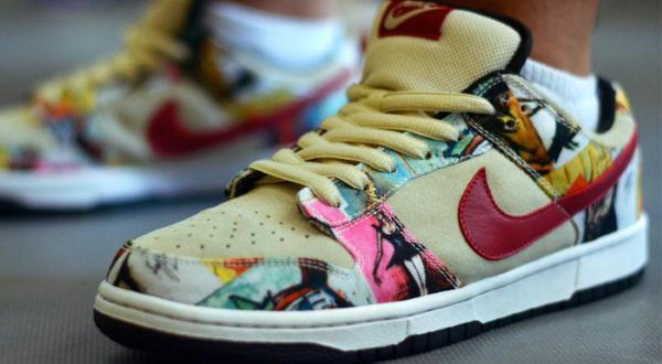 Os tênis Nike Dunk Low Pro SB  Paris  fazem parte da série lendária de  cidade 4de25787ae3