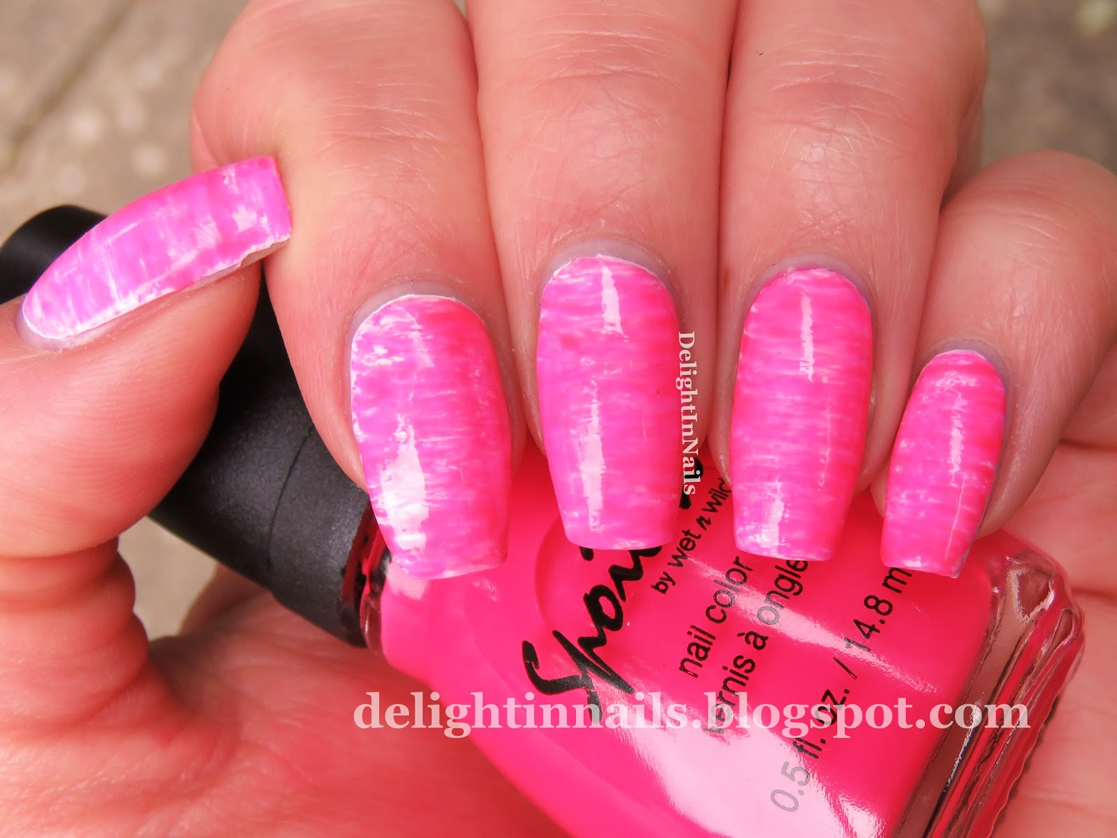 Delight In Nails: 40 Great Nail Art Ideas - Hot Pink