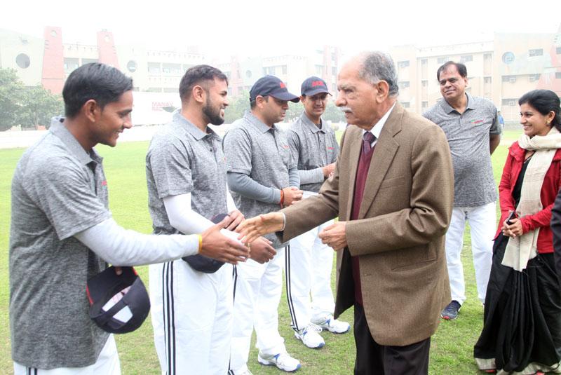 मानव रचना 12 वीं कॉर्पोरेट क्रिकेट चैलेंज :  MREI और NDTV ने जीता मुकबाला