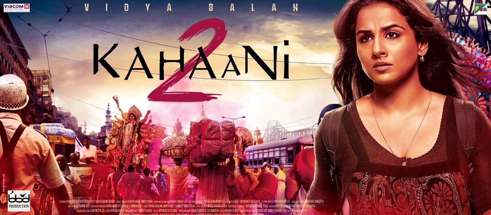 Latest Vidya Balan Movie Kahaani 2 (2016) box office collection Verdict (Hit or Flop) wiki, report New Records, Overseas day and week end.