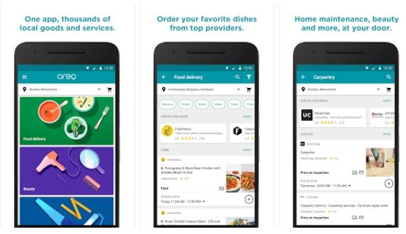 Google Rilis Aplikasi Baru Bernama Areo : Aplikasi tunggal untuk pengiriman makanan kerumah dan  jasa lainnya