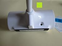 hinten: GHB dimmbare LED Schreibtischlampe 3-Level Helligkeit 360° flexiblen Schwanenhals Tischlampe -Weiß [Energieklasse A+]