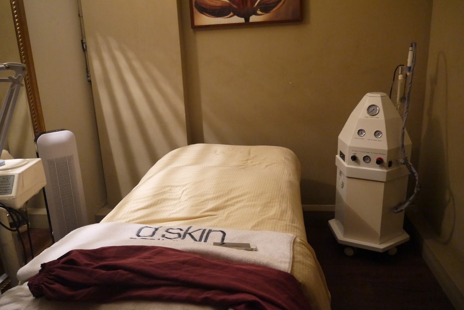 Beauty treatment let your skin breathe with d skin s for Beauty treatment bed