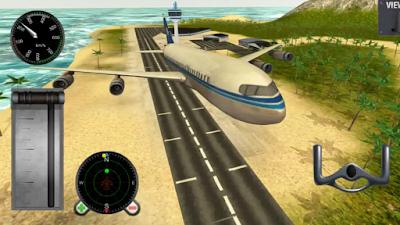 تحميل لعبة تعليم قيادة الطائرة الجديدة Avion Simulateur برابط مباشر