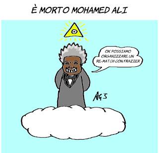 mohamed ali, sport, vignetta