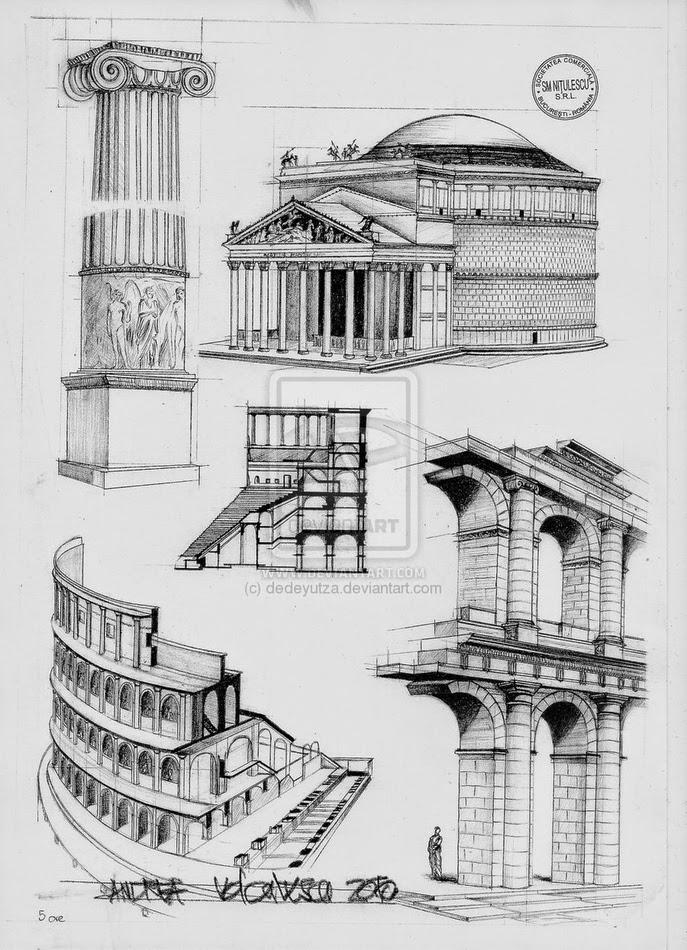 01-Roman-Architecture-Andrea-Voiculescu-Drawings-of-Historic-Architecture-www-designstack-co