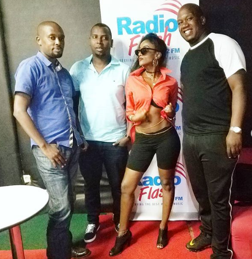 tony3 - Sexy Kenyan singer narrates how she was humiliated and kicked out of a local TV station over this skimpy outfit (PHOTOs)