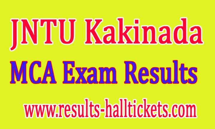 JNTU Kakinada MCA 4th Sem (R13,R09) Regular / Supply June 2016 Exam Results