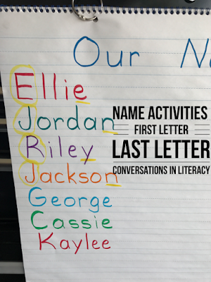 Fun Name and Letter Activities for Kindergarten