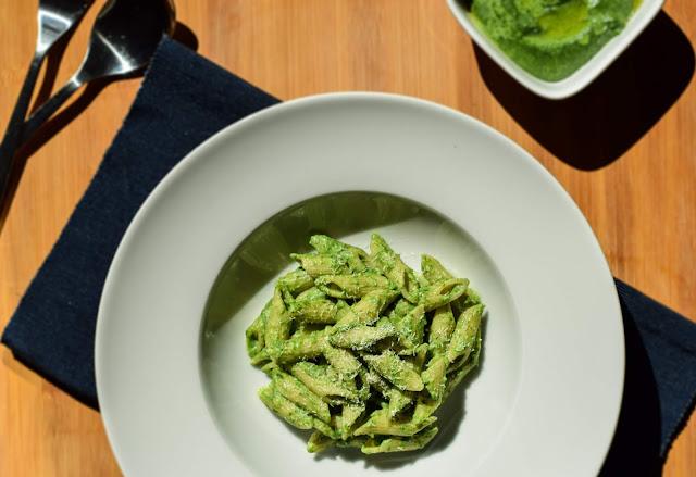 pesto di spinaci congelati