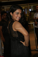 Wamiqa Gabbi in a sleeveless Black Designer Transparent Gown at 64th Jio Filmfare Awards South ~  Exclusive 111.JPG