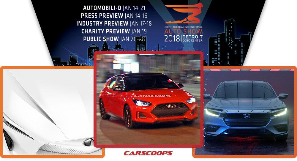 2018 Detroit Auto Show Naias A To Z Debuts Autoscoops Nl