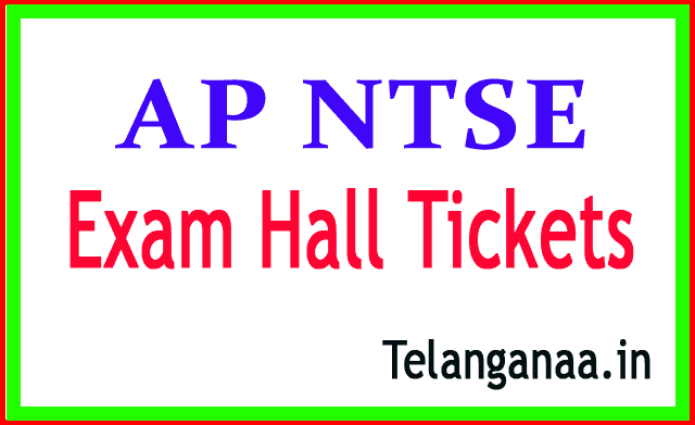 AP NTSE Exam HallTickets Download