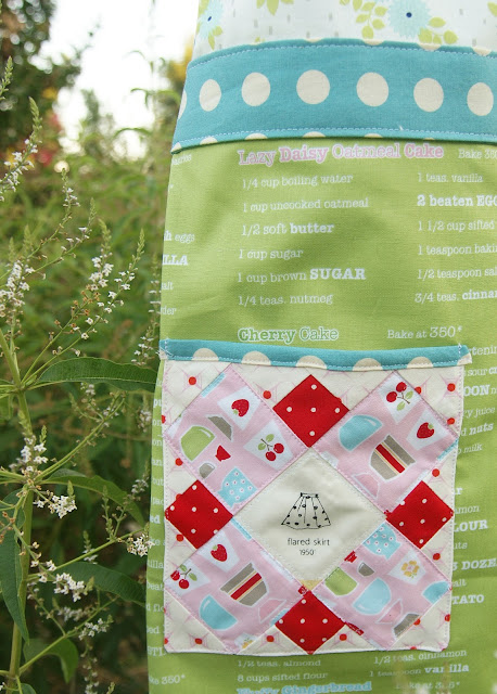 Zakka Patchwork Apron by Fabric Mutt