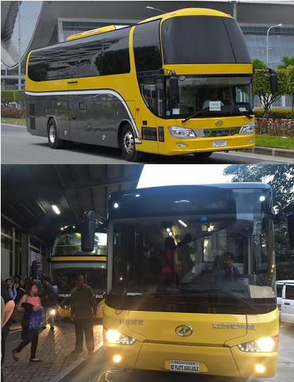 Amazing News! 14 Brand New Double-Decker Yellow Buses Complete With Restrooms, TV Screens Now On EDSA