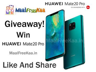 Huawei-mate-20-pro-free-smartphone-giveaway