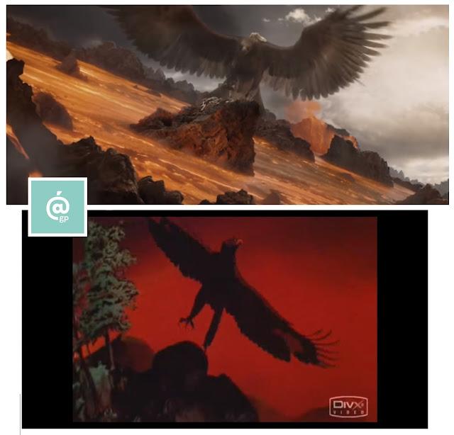 Águilas - El Señor de los Anillos: Peter Jackson Vs Ralph Bakshi - JRRTolkien - ÁlvaroGP - el fancine - el troblogdita