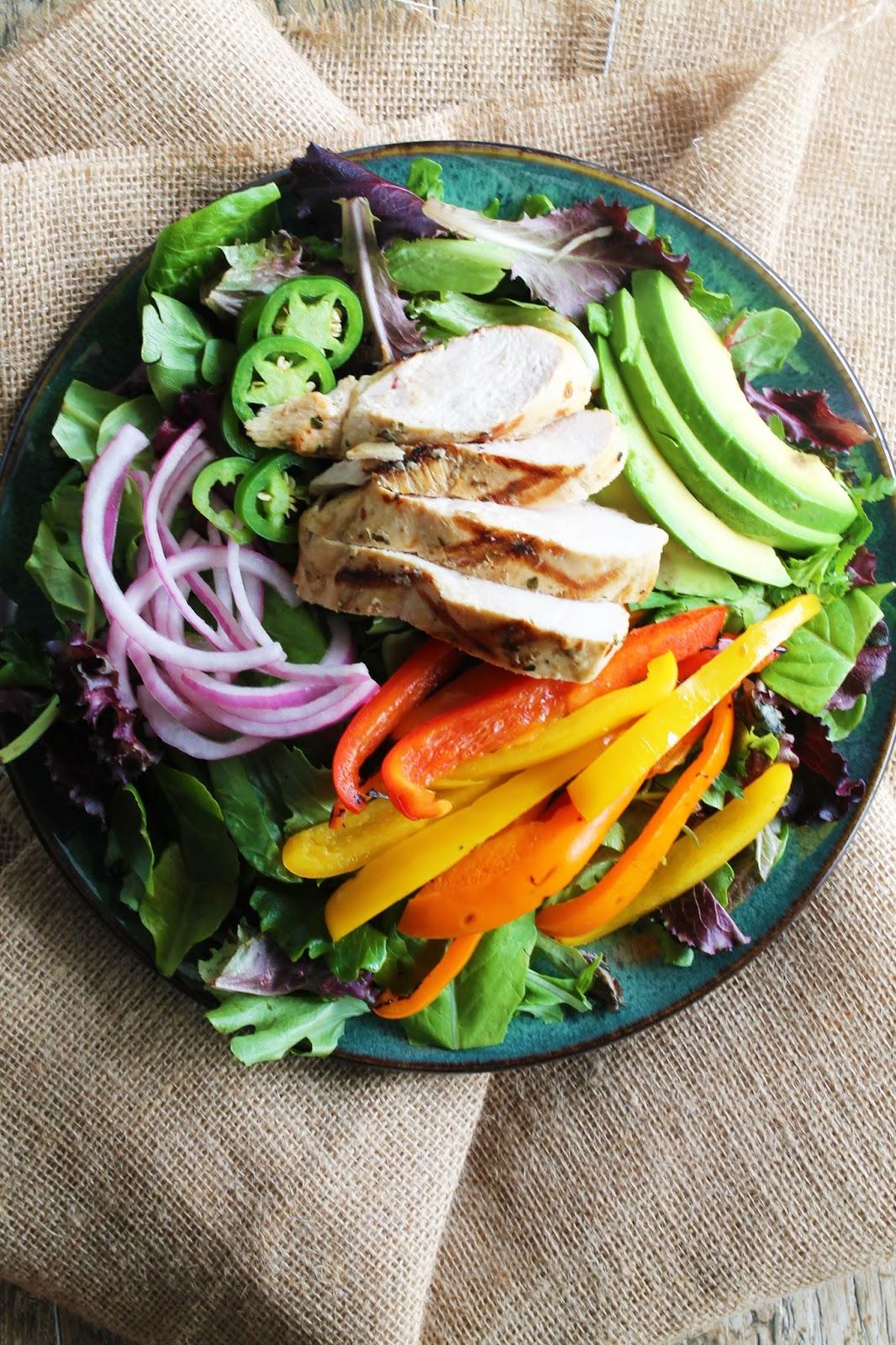 recipe: cuban grilled chicken salad [9]