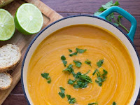 Creamy Thai Curry Red Lentil Soup