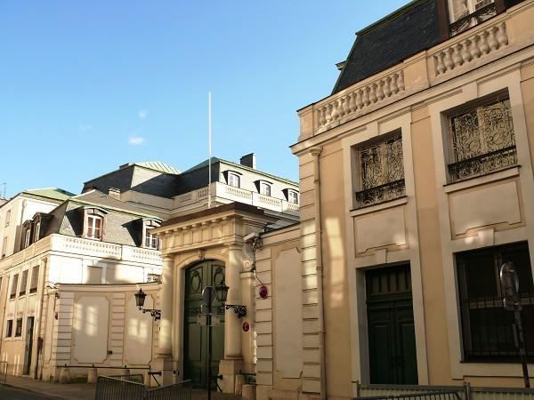 Mansão d'Estrées em Paris