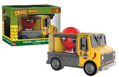 Deadpool's Chimichanga Truck Dorbz Ridez Vehicle by Funko