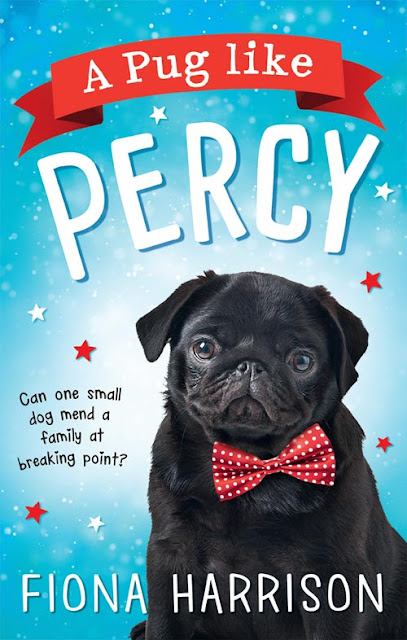 a pug like percy book cover by fiona harrison