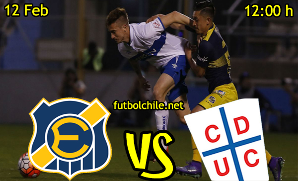 Ver stream hd youtube facebook movil android ios iphone table ipad windows mac linux resultado en vivo, online: Everton vs Universidad Católica