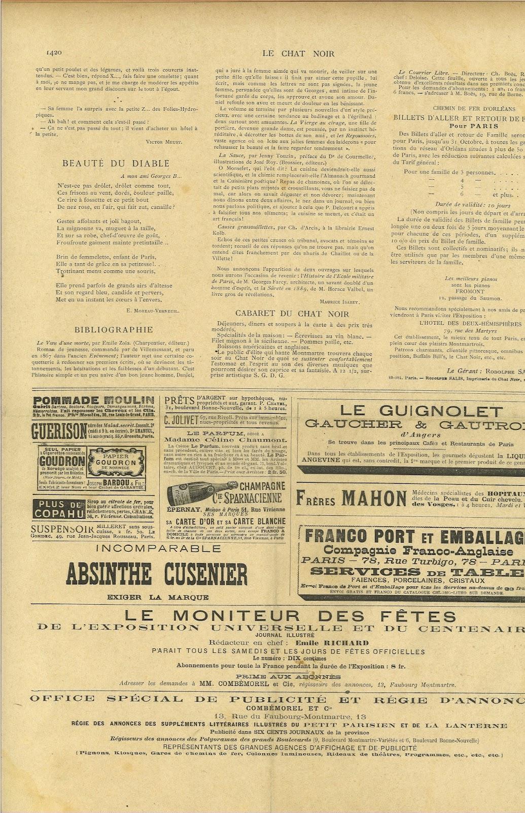 """Paille De Fer Souris the archive of the revenant avant-garde: """"chat noir"""" collection"""