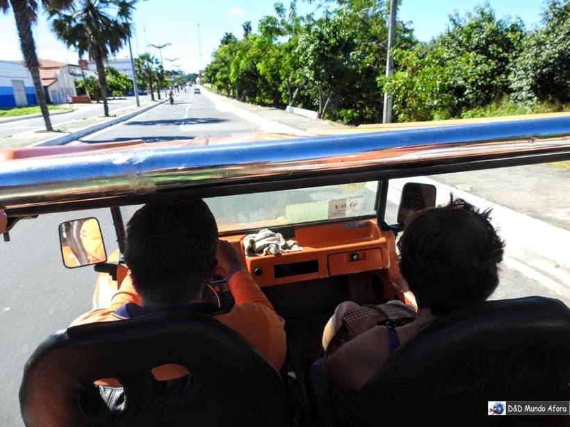Passeio de buggy - Morro Branco e Praia das Fontes - Tour 3 Praias