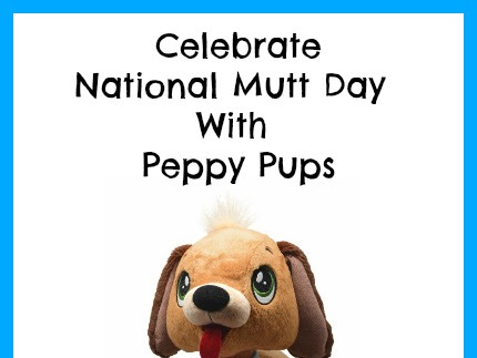 Celebrate National Mutt Day With Peppy Pups